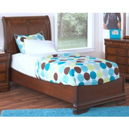 Sheridan Burnished Cherry Full Sleigh Bed