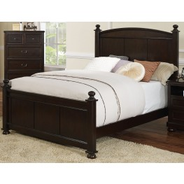 Canyon Ridge African Chestnut Twin Poster Bed