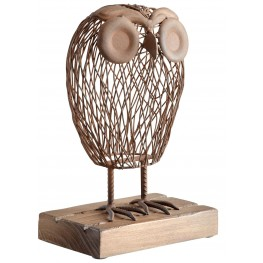 Wisely Owl Sculpture