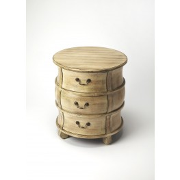 Masterpiece Bentley Driftwood Barrel Table
