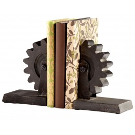 Gear Bookends