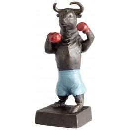 Bull Up Sculpture
