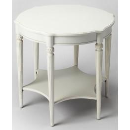 Bainbridge Cottage White Accent Table