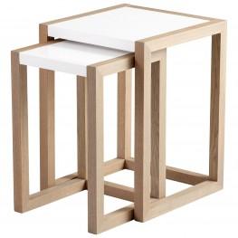 Becket White Nesting Tables