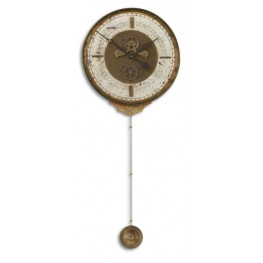Leonardo Chronograph Cream Wall Clock