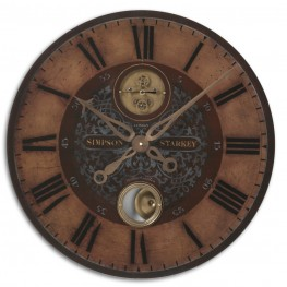 "Simpson Starkey 23"" Wall Clock"