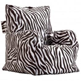 Big Joe Cuddle Zebra SmartMax Chair