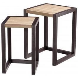 Becket Black Nesting Tables