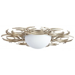 Vivian Silver 2 Light Ceiling Mount