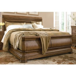 New Lou Louie Philips Cal. King Sleigh Bed