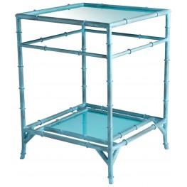 Akira Blue Side Table