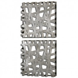Alita Squares Wall Art Set of 2