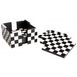 Check Mate Coasters Container