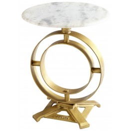 Omniscient Marble Top Table