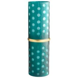 Large Cascade Parade Green Vase