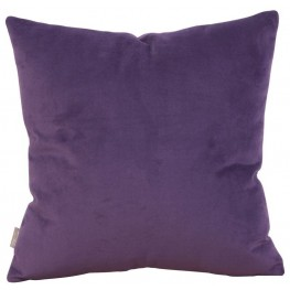 Bella Eggplant Small Down Insert Pillow