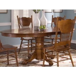 Nostalgia Single Pedestal Dining Table