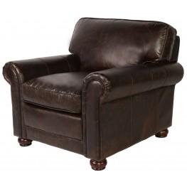 Genesis Brompton Chocolate Leather Chair