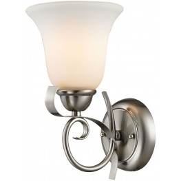 Brighton Brushed Nickel 1 Light Wall Sconce