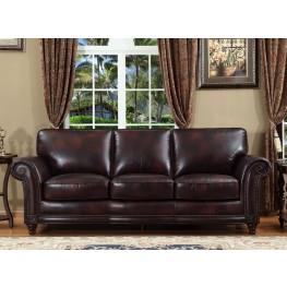 Century Toberlone Leather Sofa