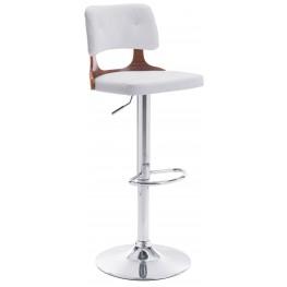 Lynx White Bar Chair