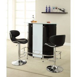 100654 Black/White Bar Set