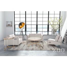 Thor White Living Room Set