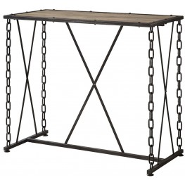 Dark Rustic Bar Table