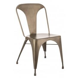 Flynn Dark Warm Grey Dining Chair