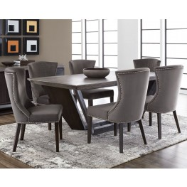 Langley Coffee Bean Rectangular Dining Room Set