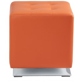 Marco Orange Swivel Ottoman