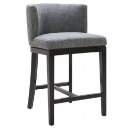 Hayden Quarry Fabric Counter Stool