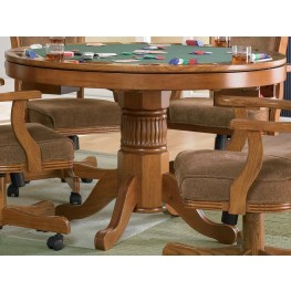 Mitchell Oak Game Table