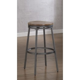 B1-100-25W Metal Frame Backless Bar Stool