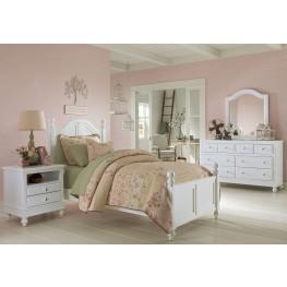 Lake House White Payton Youth Panel Bedroom Set