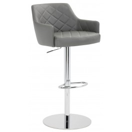 Chase Graphite Adjustable Barstool