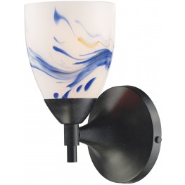 10150-1DR-MT Celina Dark Rust And Mountain 1 Light Sconce