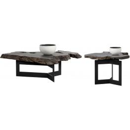 Wyatt Black Occasional Table Set