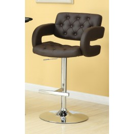 """Brown 29"""" Height Stool 102556"""