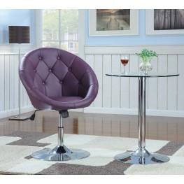 102581 Purple Swivel Chair