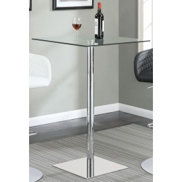Chrome Bar Table