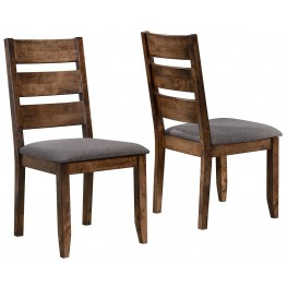 Alston Knotty Nutmeg Dining Chair Set of 2