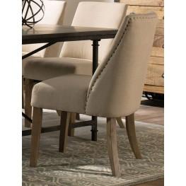 Beige Side Chair Set of 2
