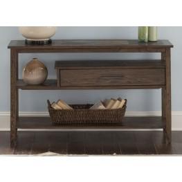 Brookstone Weathered Oak Sofa Table