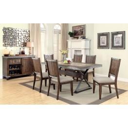 Beckett Natural Mango Dining Room Set