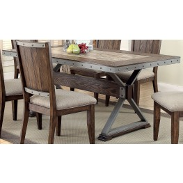 Beckett Natural Mango Dining Table