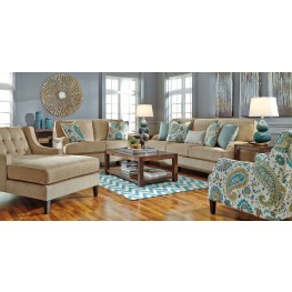 Lochian Bisque Living Room Set
