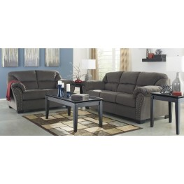 Kinlock Charcoal Living Room Set