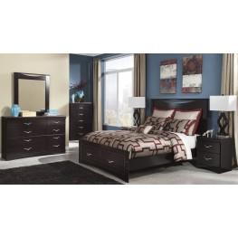 Zanbury Panel Storage Bedroom Set