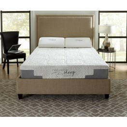 "10"" Gel Memory Foam Cal. King Mattress"